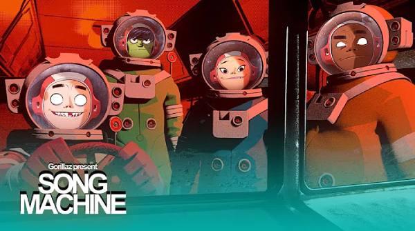 Gorillaz suenan rock en 'Strange Timez' con Robert Smith (Letra)