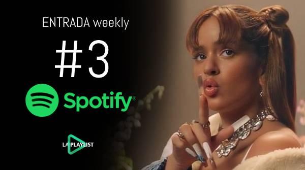 Spotify Weekly: Relación Remix (con Rosalía) entrada más fuerte (#3)