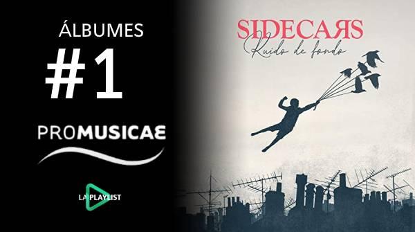 Sidecars y su 'Ruido de fondo' entran al #1 de álbumes más vendidos