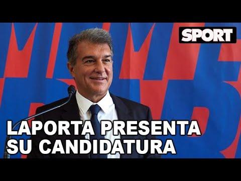 VÍDEO: JOAN LAPORTA PRESENTA SU PRECANDIDATURA para SER PRESIDENTE del FC BARCELONA   ESTIMEM EL BARÇA