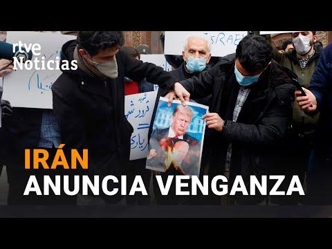 VÍDEO: IRÁN culpa a ISRAEL del asesinato de FAJRIZADEH y anuncia VENGANZA I RTVE
