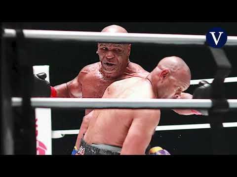 VÍDEO: La mejores imágenes del combate entre Tyson y Jones