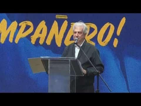 """VÍDEO: Expresidente uruguayo Tabaré Vázquez asegura que sigue """"luchando"""""""