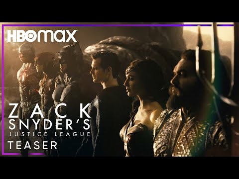 video Justice League: Director's Cut | Official Teaser Update | HBO Max