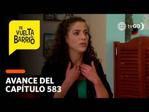 Video De Vuelta al Barrio 4: Sofía descubrirá que Tato es el padre del bebé de Kelly (AVANCE CAP. 583)