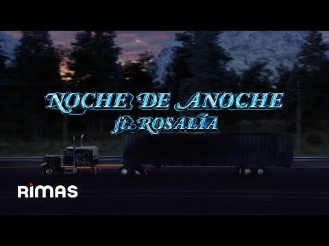 VÍDEO: BAD BUNNY x ROSALÍA – LA NOCHE DE ANOCHE | EL ÚLTIMO TOUR DEL MUNDO [Visualizer] de Bad Bunny