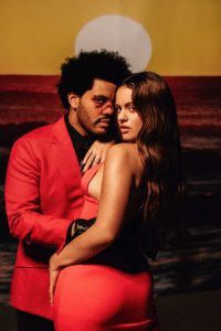 blinding lights remix the weeknd rosalia
