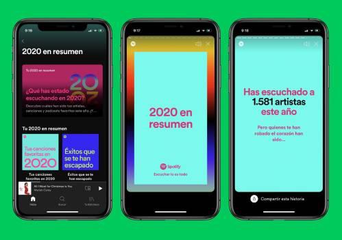 ¿Cómo ver mi Spotify Wrapped 2020?