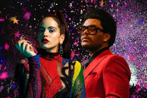 The Weeknd feat. ROSALIA Blinding Lights Remix letra y vídeo
