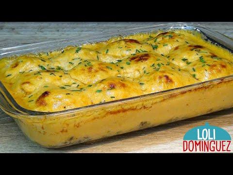 VÍDEO: ESPECIAL NAVIDAD, HUEVOS RELLENOS CON GAMBAS (CAMARONES) Y VERDURAS. Loli Domínguez. Recetas. de La Cocina de Loli Dominguez