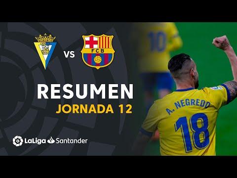 VÍDEO: Resumen de Cádiz CF vs FC Barcelona (2-1) de LaLiga Santander