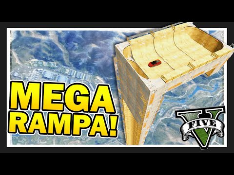 video La *MEGA* Rampa Vertical   GTA 5 Online | CARRERA EXTREMA con los COMPAS!!