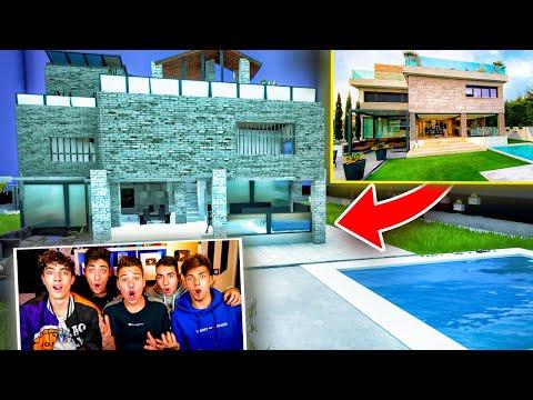 video Han construido la EPIC HOUSE en Fortnite...*100% igual*