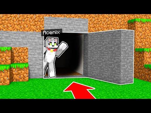 video CREAMOS una BASE SECRETA en MINECRAFT   VICNIX EXTREMO #2 - MINECRAFT con INVICTOR