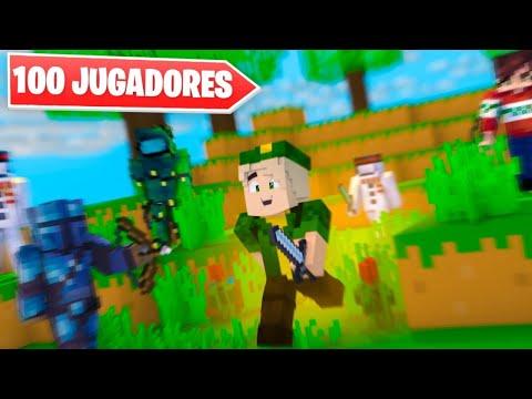 VÍDEO: ENCIERRO 100 JUGADORES en MINECRAFT solo QUEDARÁ 1 (PREMIO INCREIBLE) de Willyrex