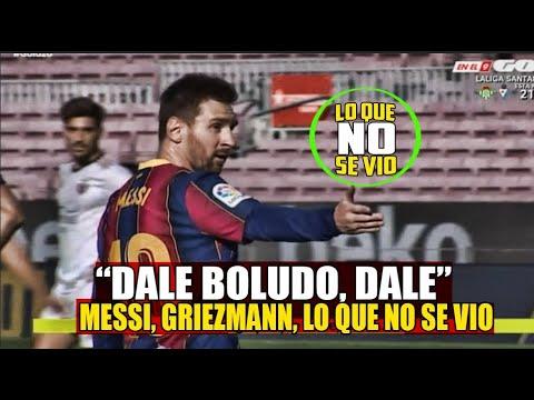 VÍDEO: Messi, Griezmann y los lloros del Madrid Lo que no se Vio del Barça vs Osasuna de MESSIAS FC
