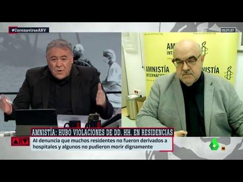 VÍDEO: Amnistía Internacional denuncia violaciones de derechos humanos en las residencias – Al Rojo Vivo de laSexta Noticias