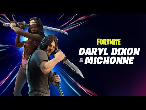 VÍDEO: Michonne and Daryl Coming Soon Through the Zero Point de Fortnite