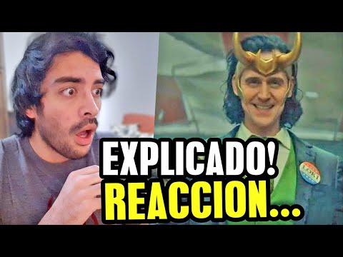 VÍDEO: ¡LOKI es glorioso! analisis y reacción Wandavision y Falcon and The Winter Soldier épicos de Pelicomic
