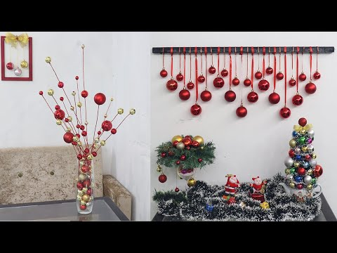 VÍDEO: 10 Christmas decoration ideas at home  Christmas decoration ideas 2021 de DiY BiGBooM