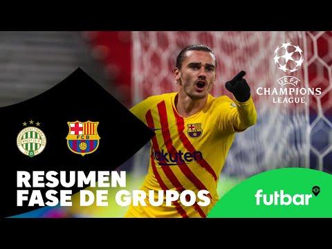 VÍDEO: RESUMEN J5 – FERENCVÁROS 0-3 FC BARCELONA de Futbar