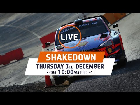 VÍDEO: WRC LIVE! Hyundai Monza Circuit Shakedown – ACI Rally Monza 2020 de FIA World Rally Championship