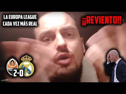 VÍDEO: ¡¡QUÉ VERGUENZA!! • SHAKHTAR DONETSK 2-0 REAL MADRID • EUROPA LEAGUE UNA REALIDAD. ¡¡HUMILLANTE!! de JKCLife