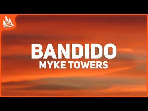 video Myke Towers - Bandido (Letra) ft. Juhn