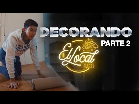 VÍDEO: DECORANDO EL LOCAL 1923 #2 | FERNANDO COSLADA de Fernando Coslada