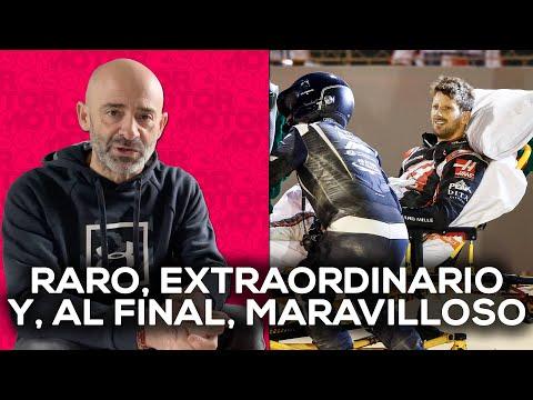 VÍDEO: No creo en los milagros, pero lo de Grosjean se pareció mucho a uno |El Garaje de Lobato – SoyMotor de SoyMotor