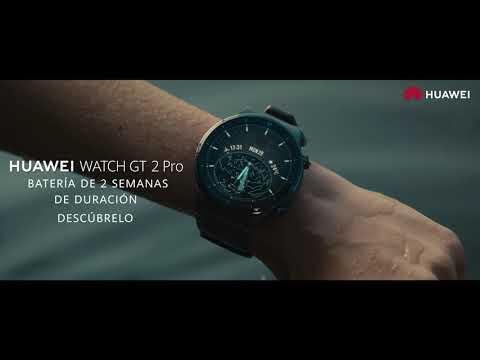 VÍDEO: HUAWEI Watch GT2 Pro: smartwatch diseñado para tu estilo de Huawei Mobile España