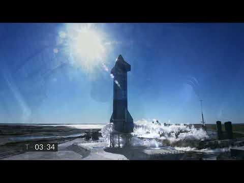 VÍDEO: Starship | SN8 | High-Altitude Flight Test de SpaceX