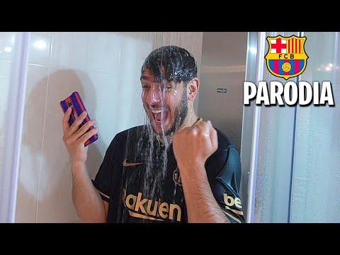 Video FC BARCELONA la PARODIA x Robert PG (Dákiti - Bad Bunny)