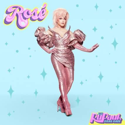 cast season 13 dragrace Rosé