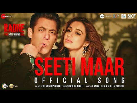 Seeti Maar | Radhe – Your Most Wanted Bhai | Salman Khan, Disha Patani|Kamaal K, Iulia V|DSP|Shabbir